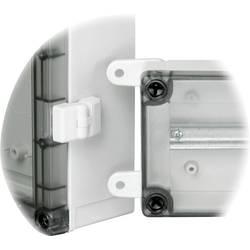 Fibox TH A, ABS, svetlo sivá, 2 ks