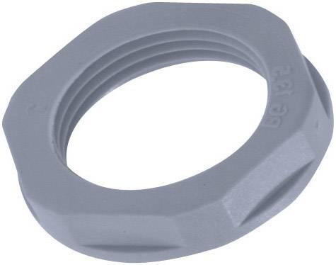 Pojistná matka LAPP SKINTOP® GMP-GL-M16 x 1.5, 53119010, M16, polyamid, stříbrnošedá (RAL 7001), 1 ks