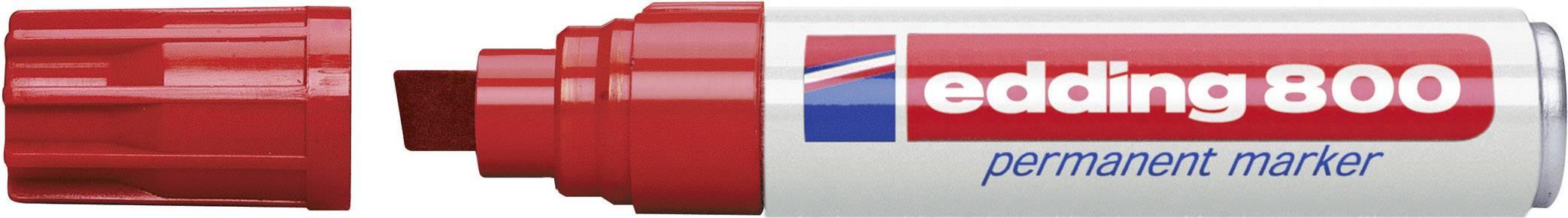 Trvanlivý popisovač edding 800- červená