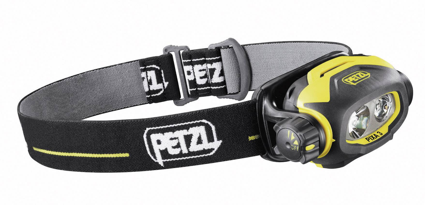 Petzl PIXA 3, IP67, žltočierna