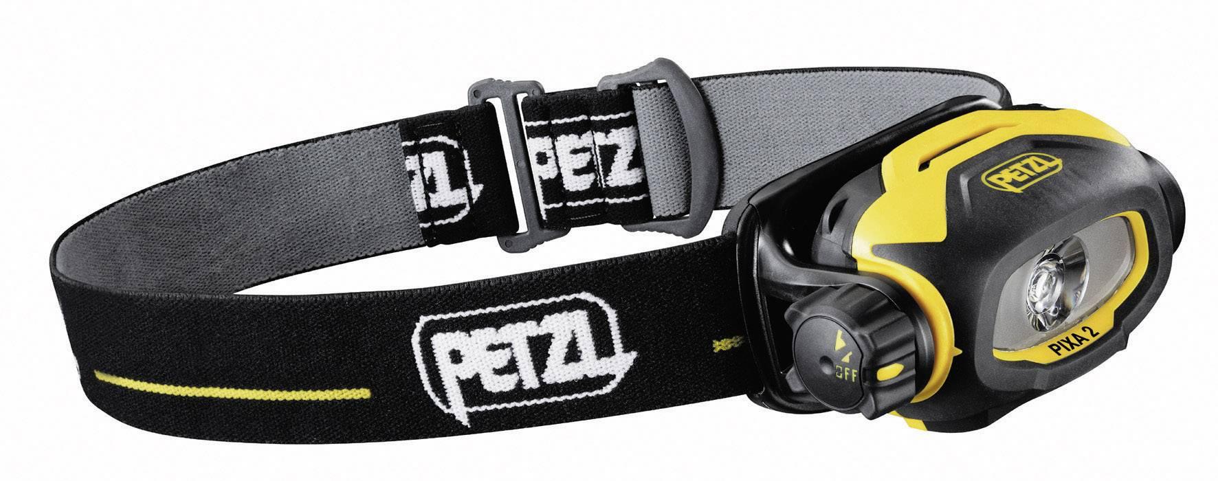 Petzl PIXA 2, IP67, žltočierna