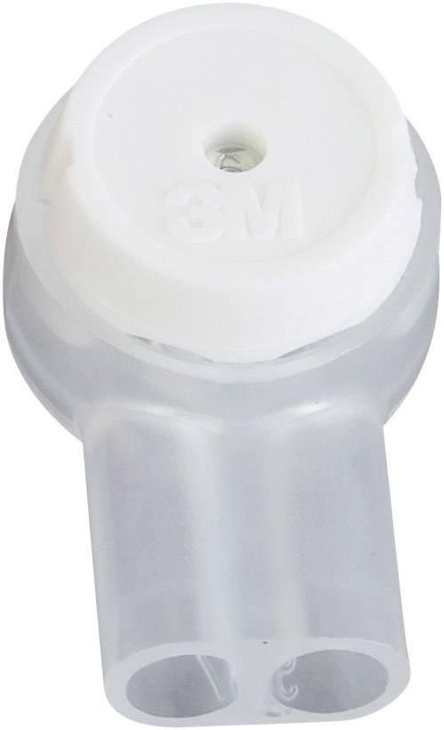 Zakončovacida dutinka 3M na kábel s rozmerom 0.13-0.65 mm², pólů 2, 1 ks, biela