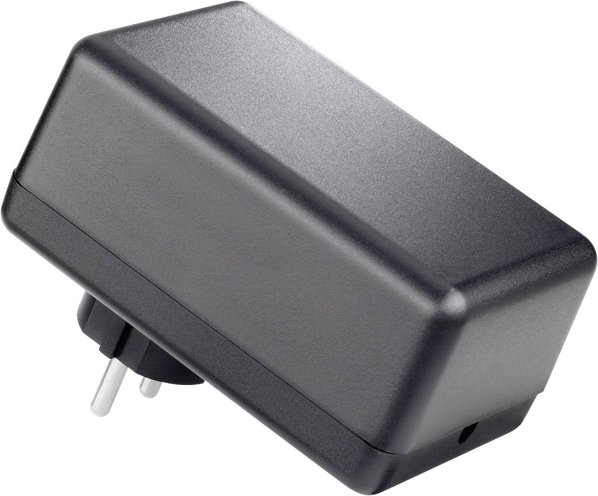 Puzdro na zástrčku TRU COMPONENTS TC-SG 421G SW203, ABS, 113 x 69 x 55 , čierna, 1 ks