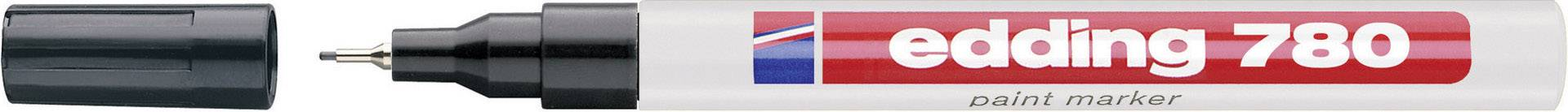 Paint Edding 4-780-1-1001 černá oblý 0.8 mm (max) 1 ks