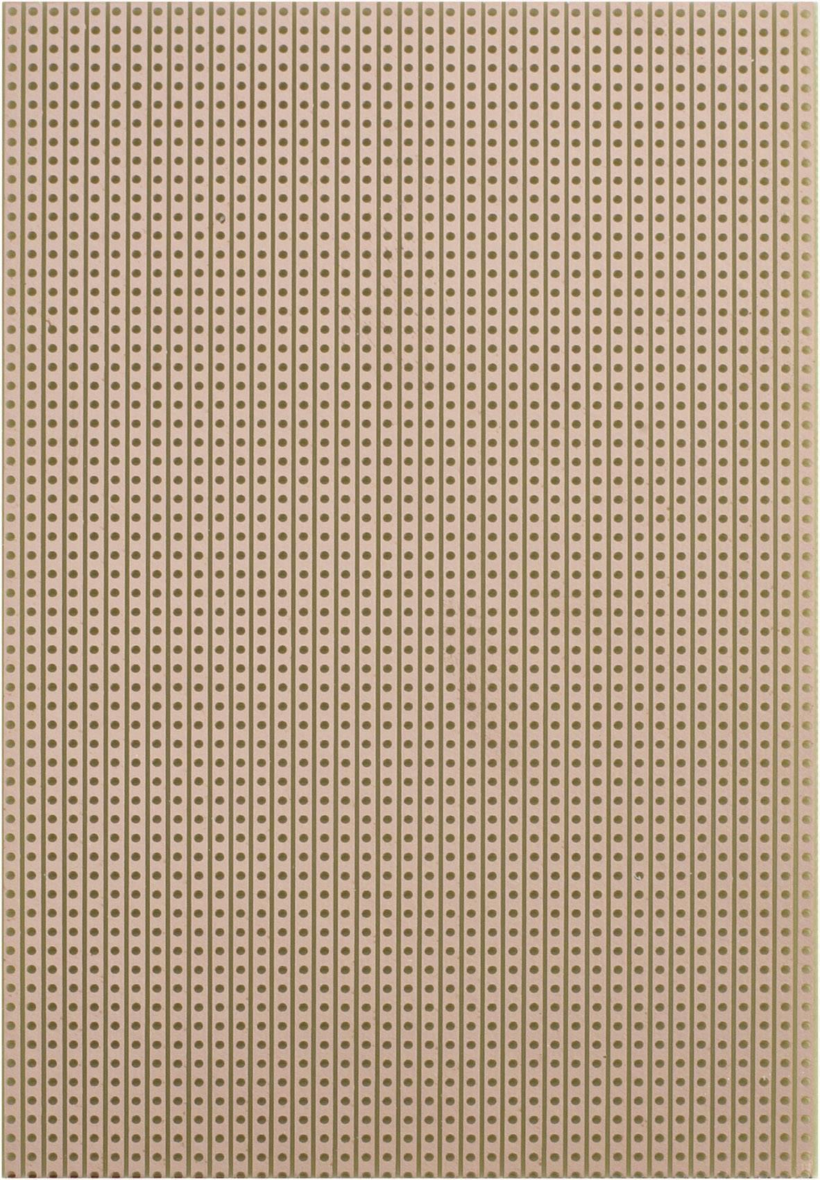 Experimentální deska s pájecími proužky 710-5 EP 160 x 100