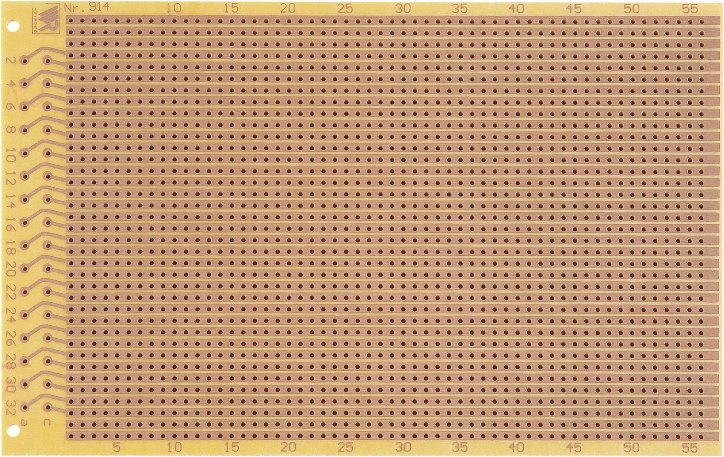Zkušební deska 914 (pájecí proužky)