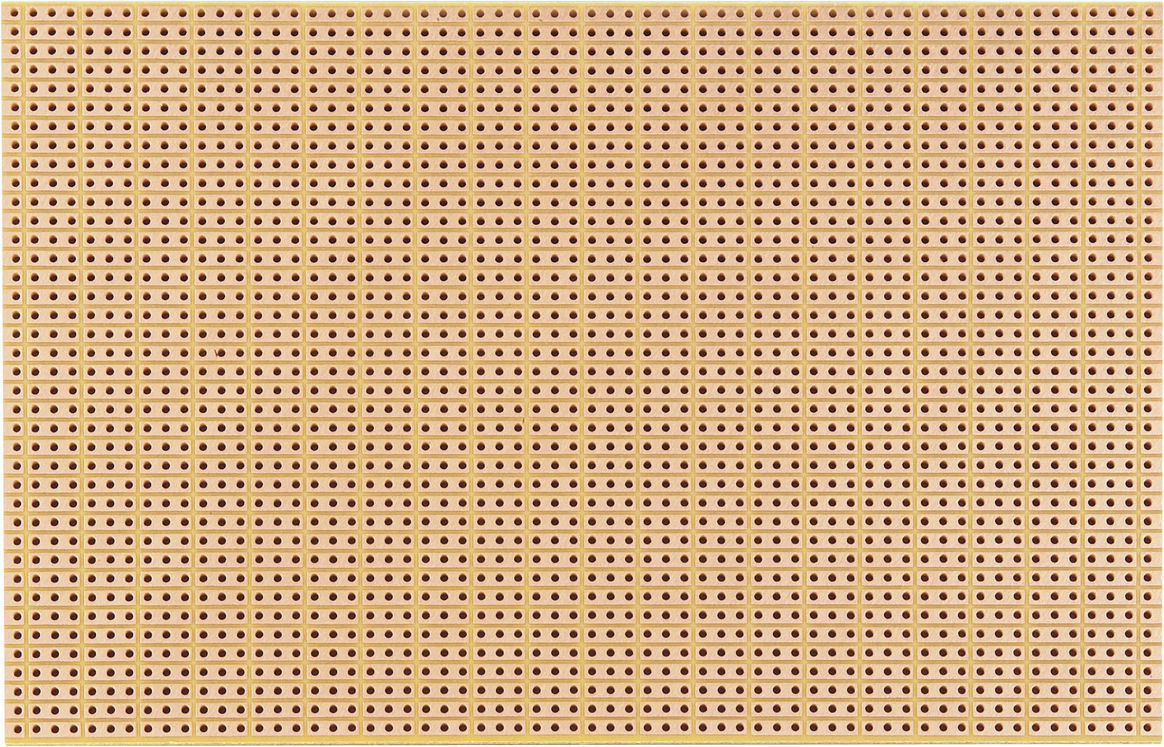 Experimentální deska s pájecími proužky (3 řetězce) 790-5 HP 160 x 100