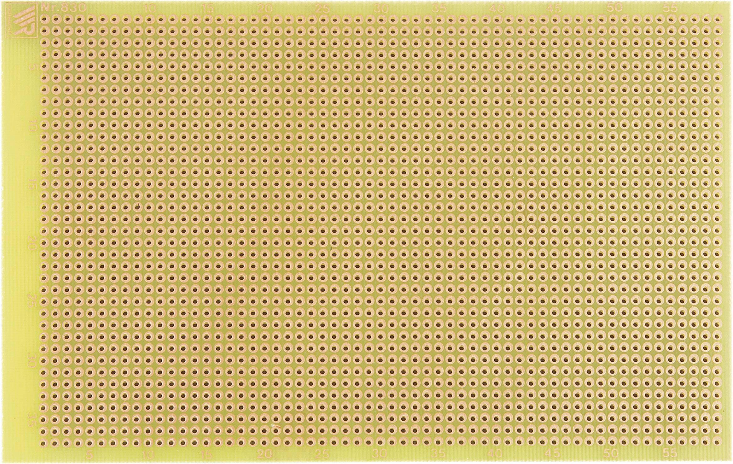 Experimentální deska s pájecími body WR Rademacher 830-EP, 160 x 100 x 1,5 mm, EP