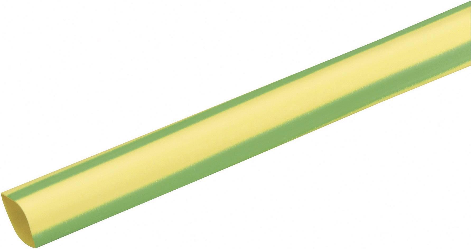 Zmršťovacie bužírky nelepiace DSG Canusa 3210095613, 3:1, 9.50 mm, zelenožltá, metrový tovar