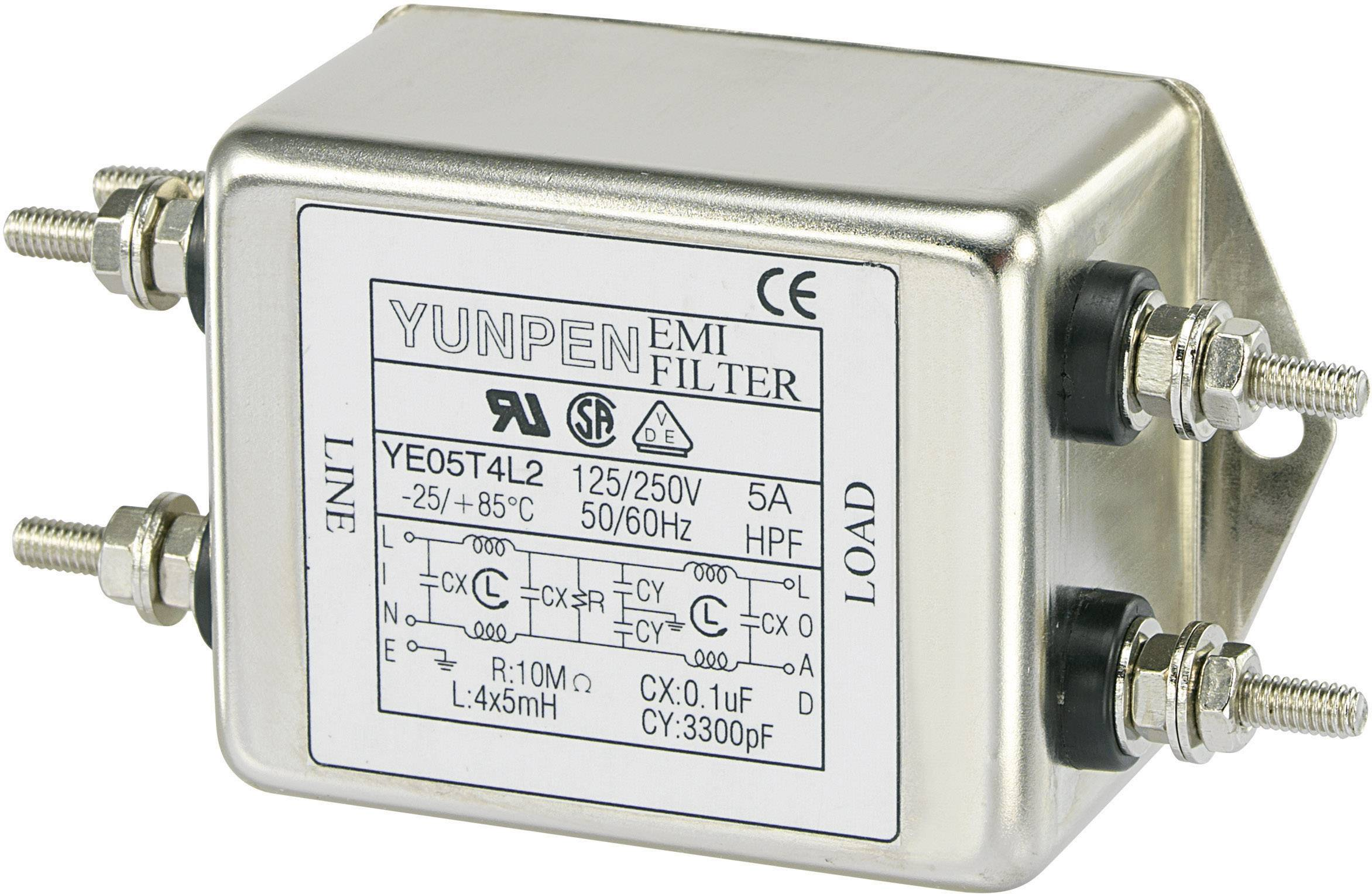 Sieťový filter 250 V/AC