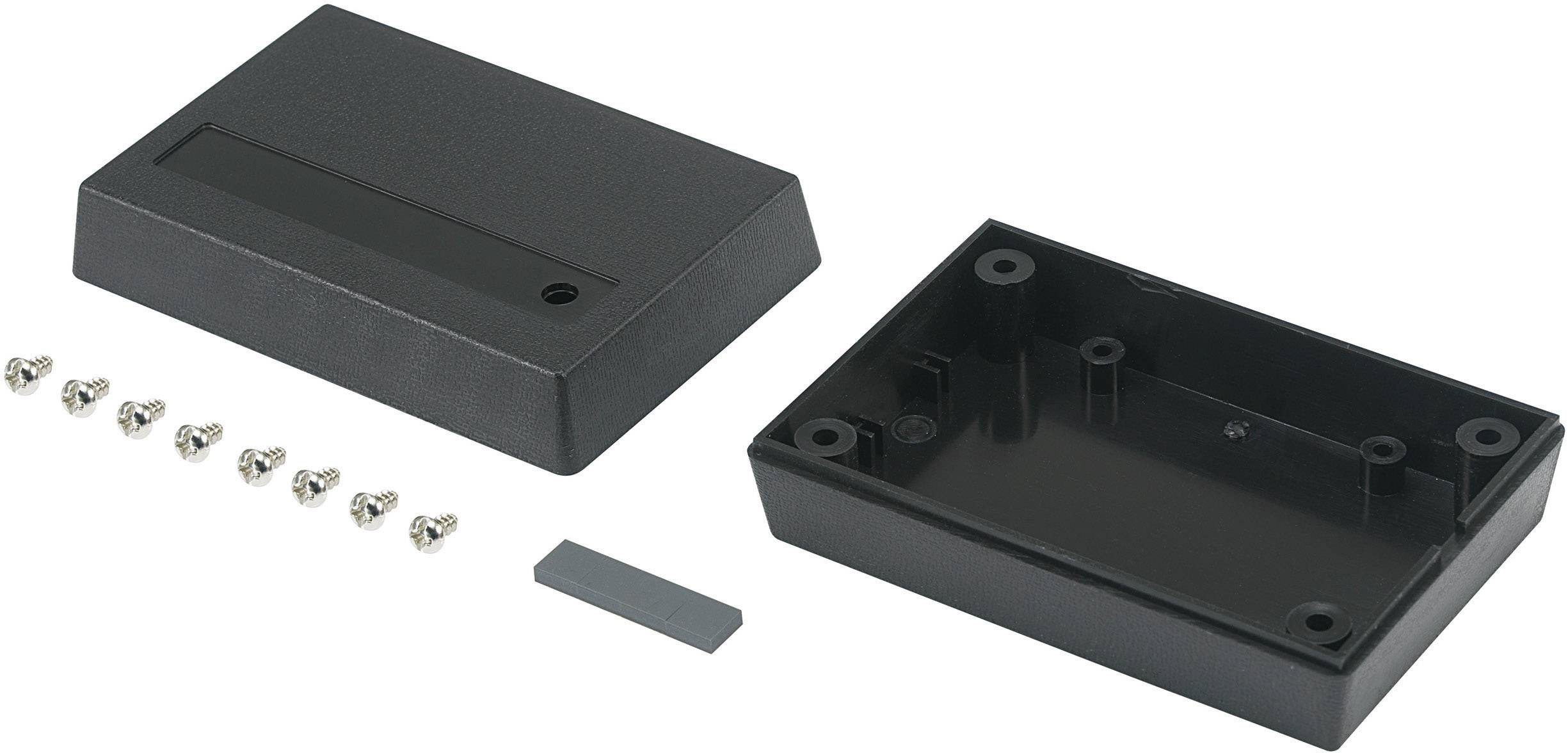 Univerzální pouzdro TRU COMPONENTS 98003C11 530113, 88 x 58 x 30 , ABS, černá, 1 ks
