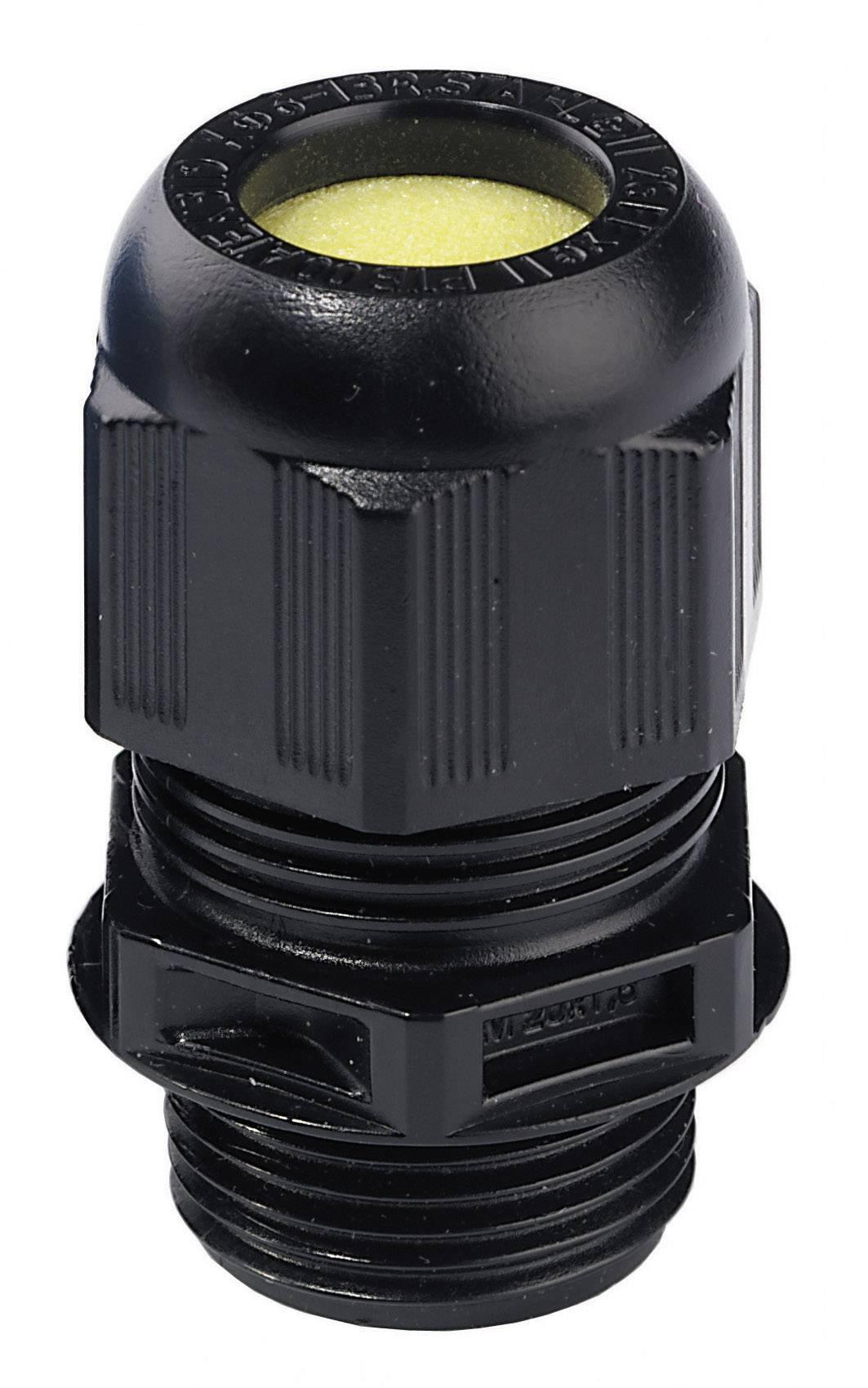 Káblová priechodka Wiska ESKE/1-e M16;ATEX, čierna (RAL 9005), 1 ks