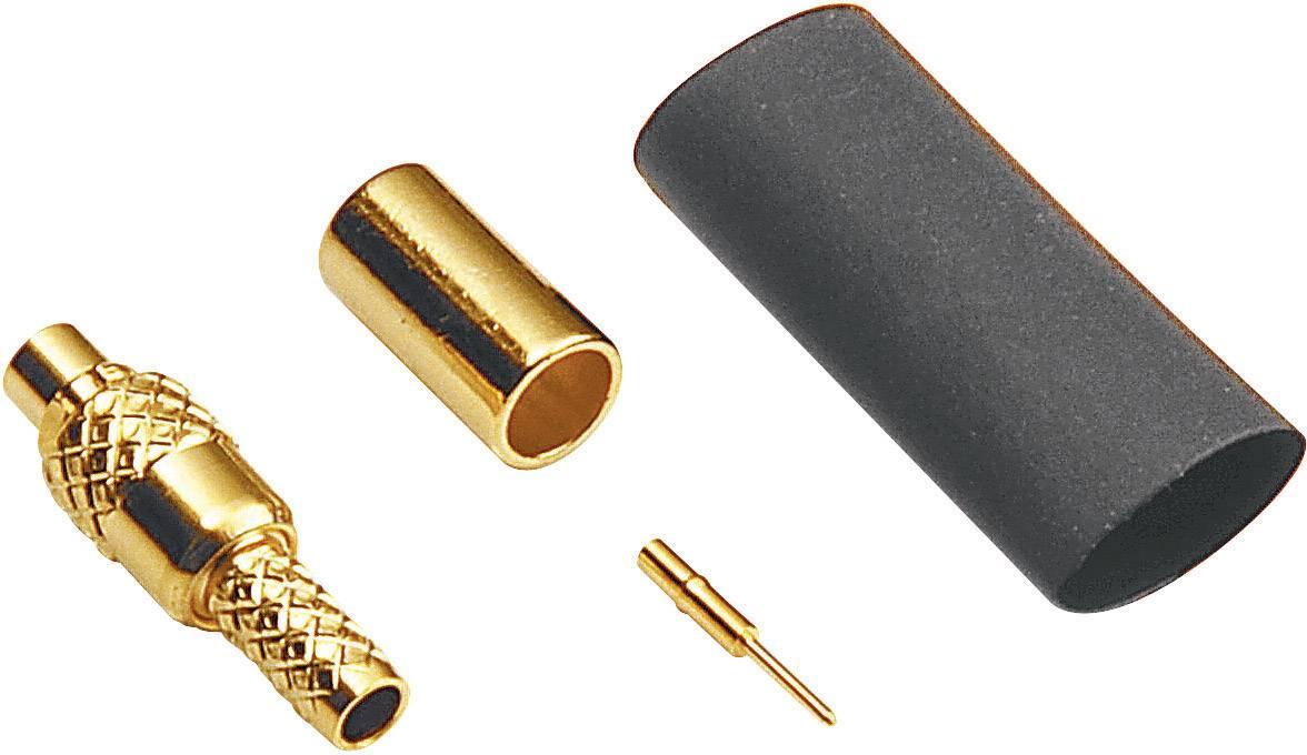 MMCX konektor zástrčka, rovná BKL Electronic 0416502, 50 Ohm, 1 ks