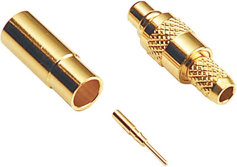 MMCX konektor zásuvka, rovná BKL Electronic 0416600, 50 Ohm, 1 ks