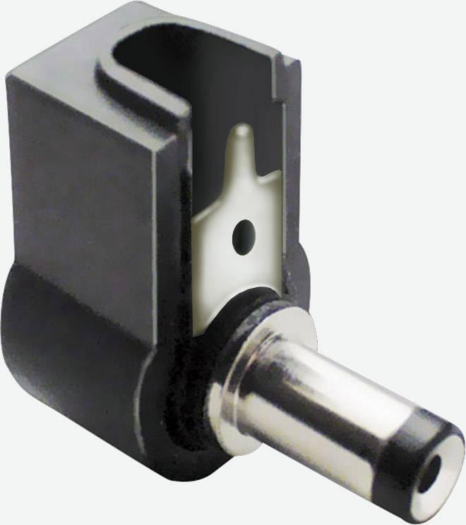 Nízkonapäťový konektor zástrčka, zahnutá BKL Electronic 072140, 5.5 mm, 2.5 mm, 1 ks