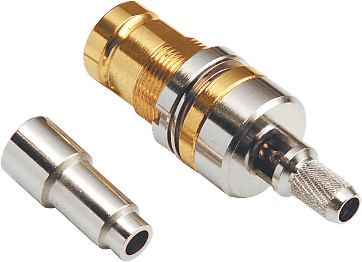 Koaxiální konektor 1,6/5,6, RG59B/U, pozlacený