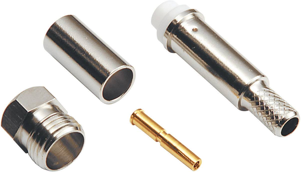 FME konektor zásuvka, rovná BKL Electronic 0412004, 50 Ohm, 1 ks