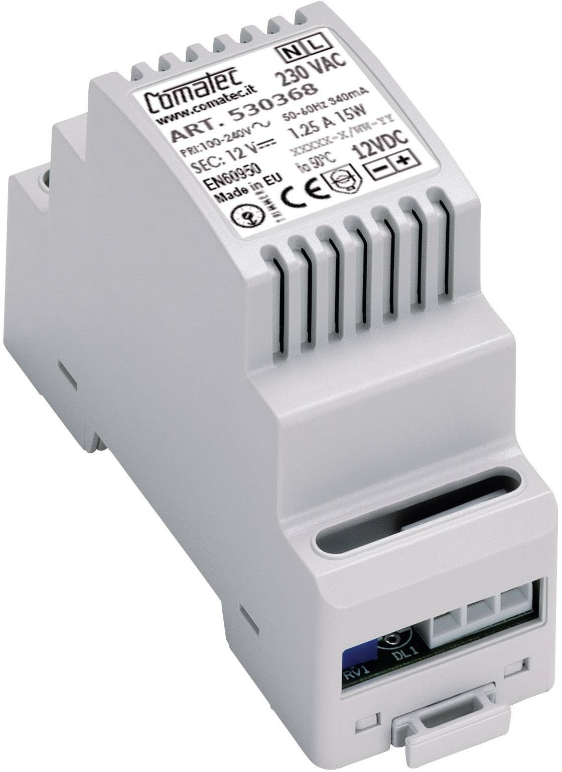 Napájecí zdroj na DIN lištu Comatec, 12 - 14 V/DC, 30 W, 100 - 240 V