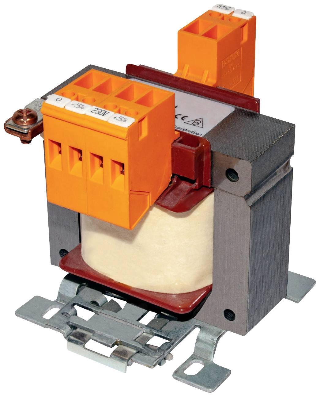 Ovládacie, bezpečnostné oddeľovacie transformátory série WUSTTR