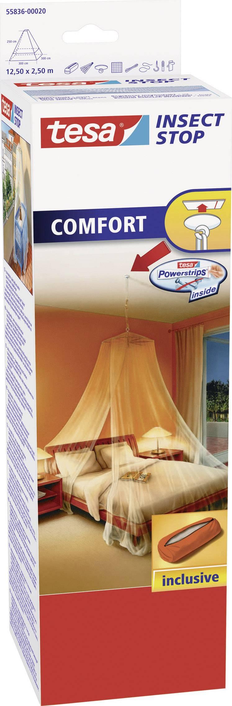 Tesa Insect Stop Comfort 55836-20, biela
