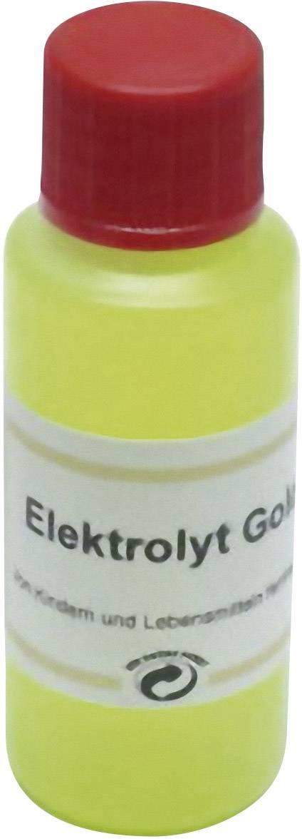 Elektrolyt - náplň 30 ml, zlato