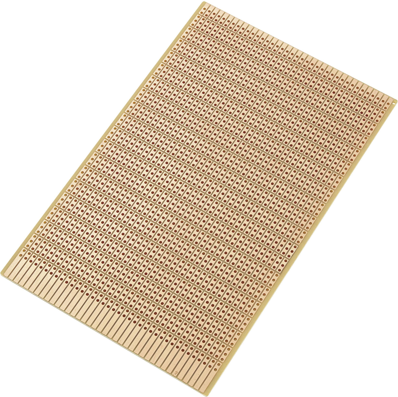Eurodeska z tvrdého papíru, SU527815, (D x Š) 160 mm x 100 mm, velikost rastru 2,54 mm