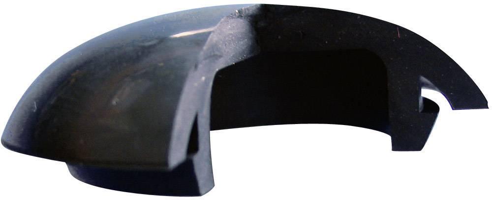 Koncová záslepka Richco LTP-3, IP67, silikón, kaučuk, čierna, 1 ks