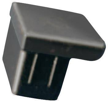 Krytka Richco CP-RJ11, silikón, kaučuk, čierna, 1 ks