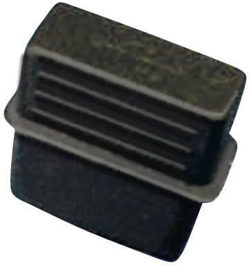 Krytka Richco CP-USB-A, silikón, kaučuk, čierna, 1 ks
