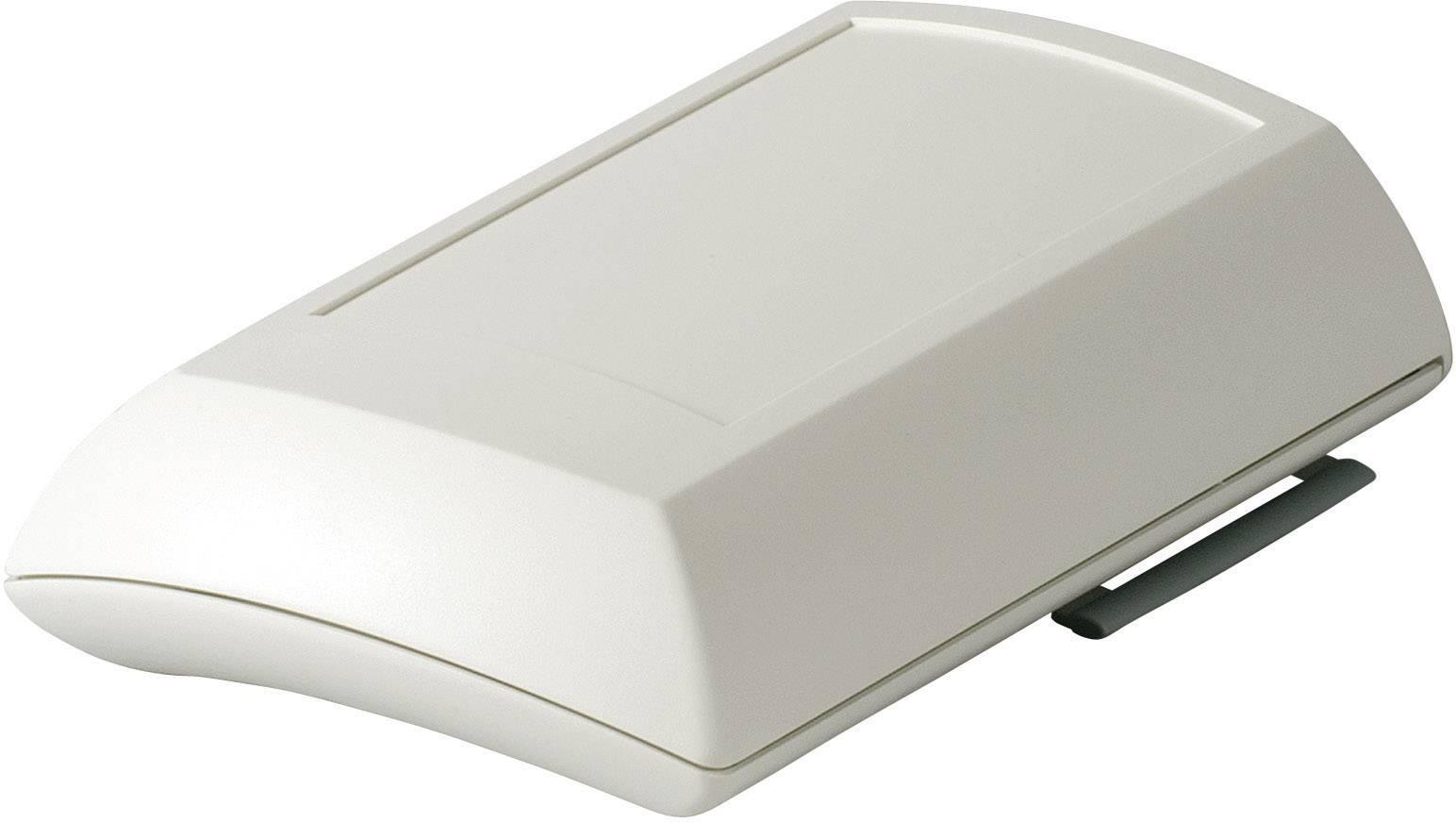 Plastová krabička OKW ERGO-CASE D7010207, 150 x 100 x 40 mm, ABS, IP40, sivobiela, 1 ks