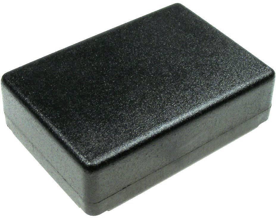 Univerzální pouzdro plastové Kemo G025, (d x š x v) 72 x 50 x 21 mm, černá