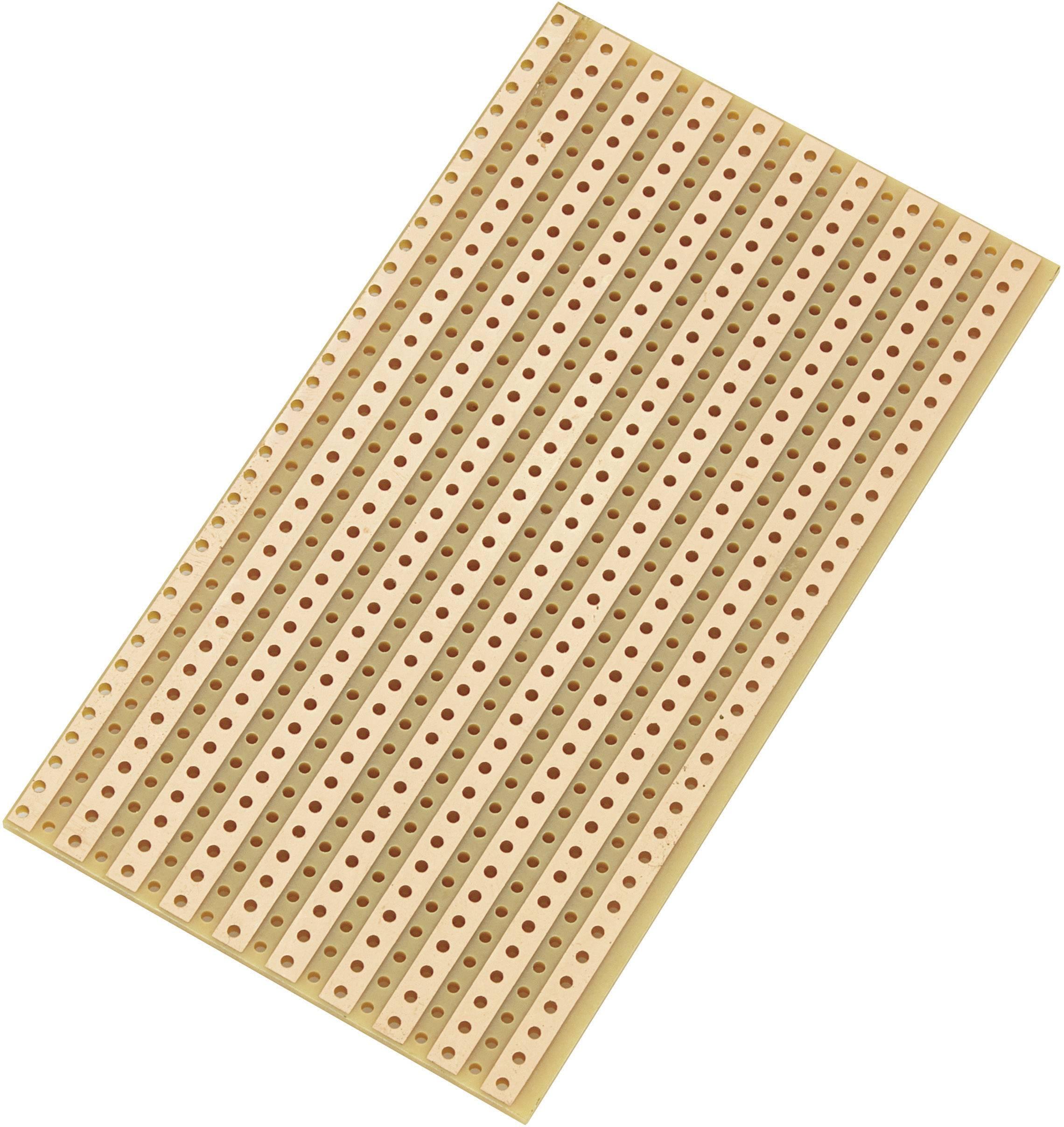 Univerzálna doska s rastrom, SU527610, (D x Š) 90mm x 50mm, rozmery rastra 5,08mm