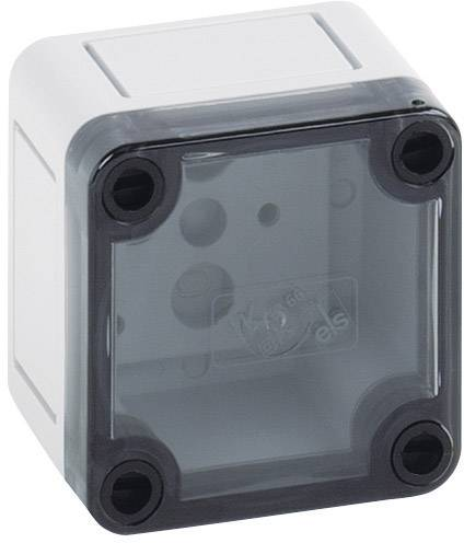 Inštalačná krabička Spelsberg TK PS 77-6-t 11100101, (d x š x v) 65 x 65 x 57 mm, polykarbonát, polystyrén, svetlo sivá (RAL 7035), 1 ks