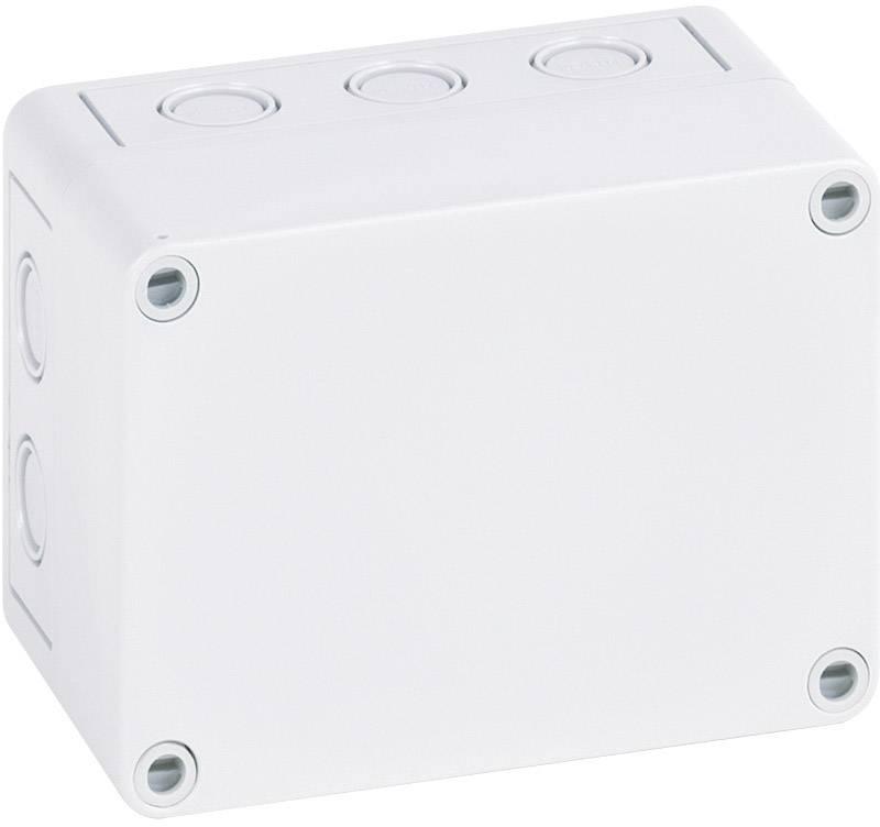 Inštalačná krabička Spelsberg TK PS 1309-6-m 10540901, (d x š x v) 130 x 94 x 57 mm, polystyrén, svetlo sivá (RAL 7035), 1 ks