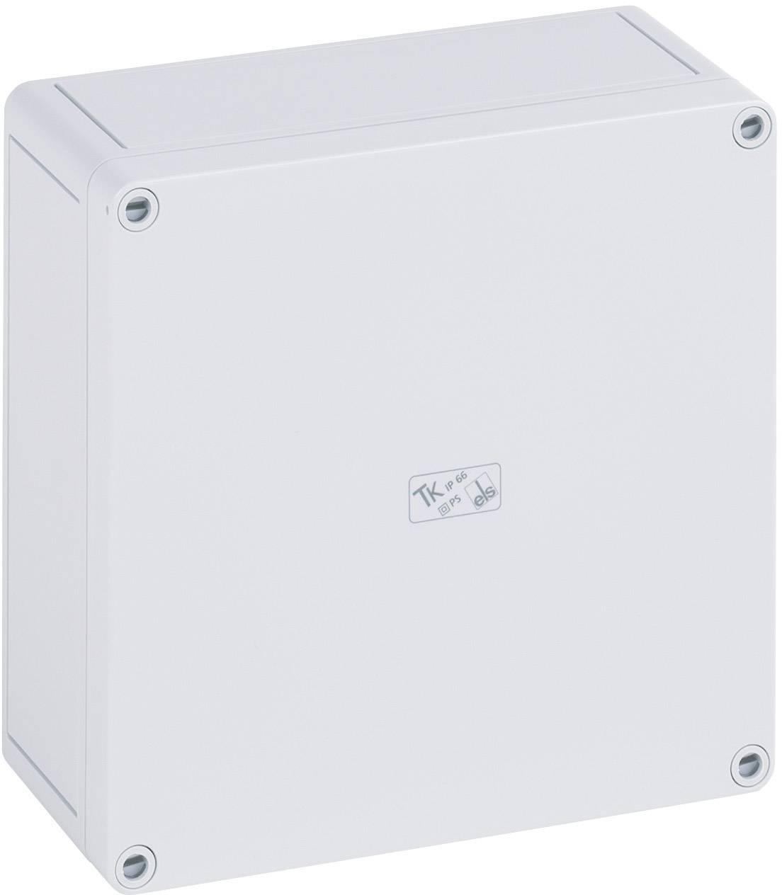 Inštalačná krabička Spelsberg TK PS 1809-8 11091001, (d x š x v) 180 x 94 x 81 mm, polystyrén, svetlo sivá (RAL 7035), 1 ks