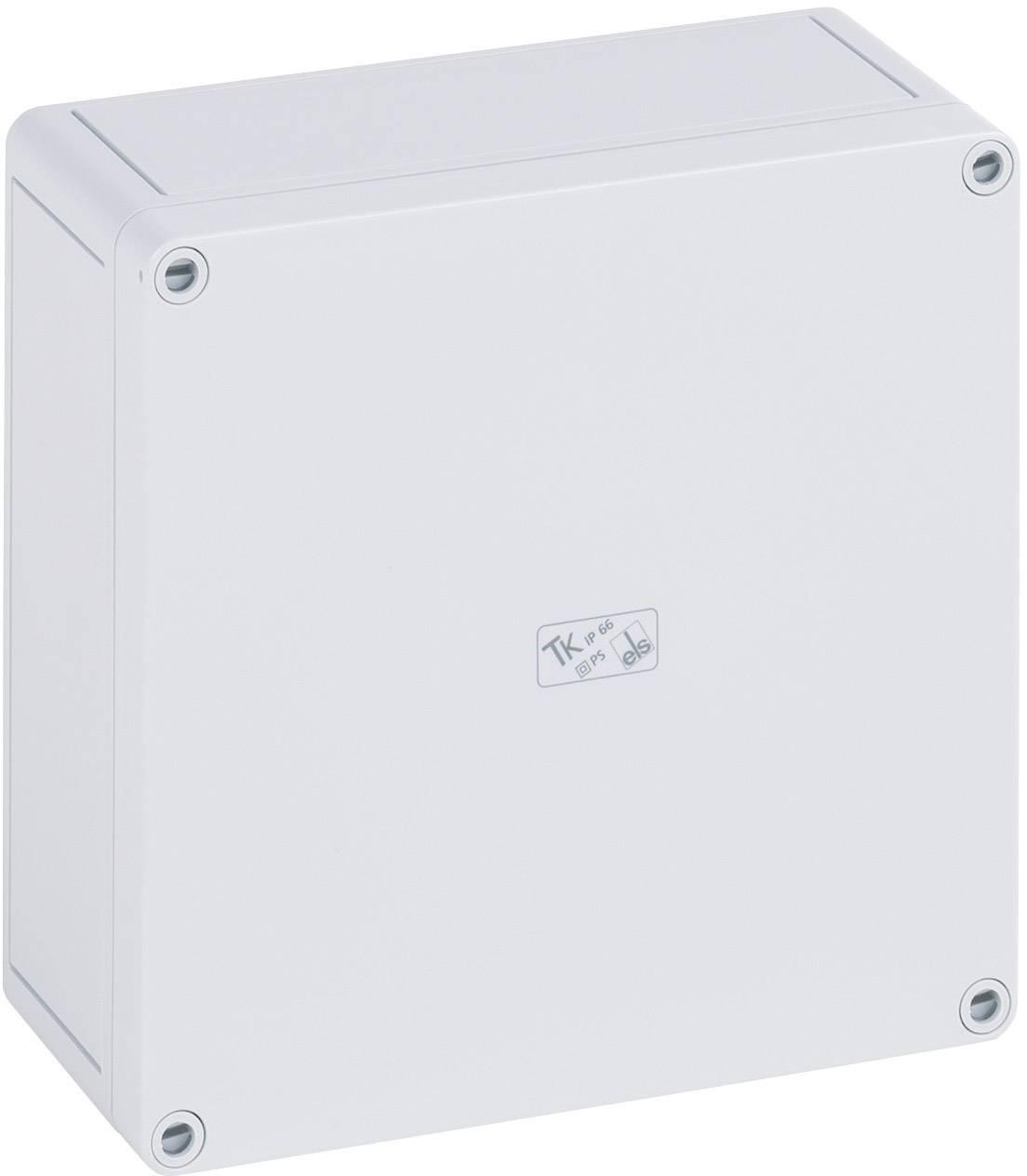 Inštalačná krabička Spelsberg TK PS 2518-8f 11091101, (d x š x v) 254 x 180 x 84 mm, polystyrén, svetlo sivá (RAL 7035), 1 ks