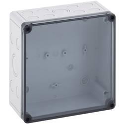 Inštalačná krabička Spelsberg TK PS 1313-7-tm 10600501, (d x š x v) 130 x 130 x 75 mm, polykarbonát, polystyrén, svetlo sivá (RAL 7035), 1 ks
