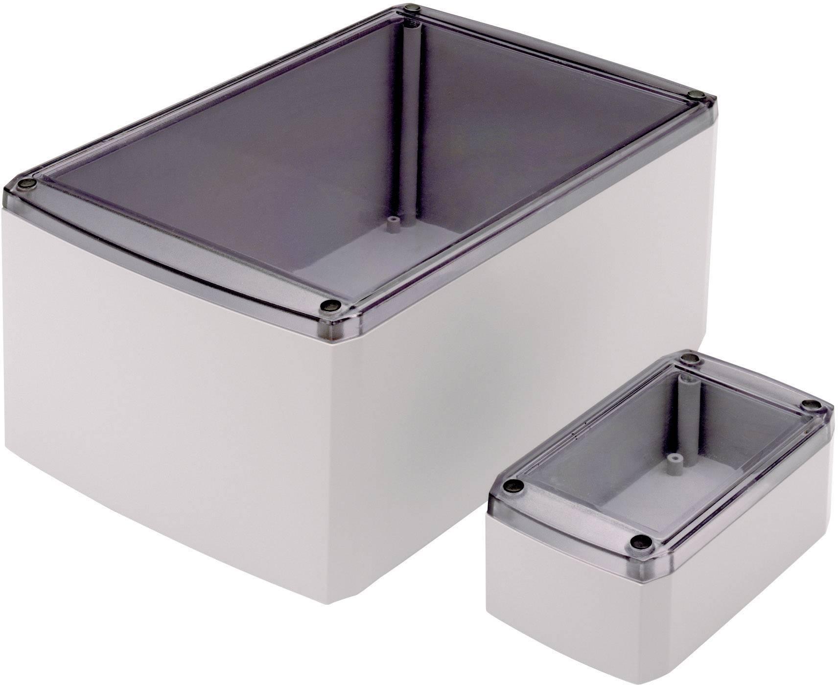 Univerzální pouzdro ABS Axxatronic, (d x š x v) 155 x 95 x 60 mm, šedá