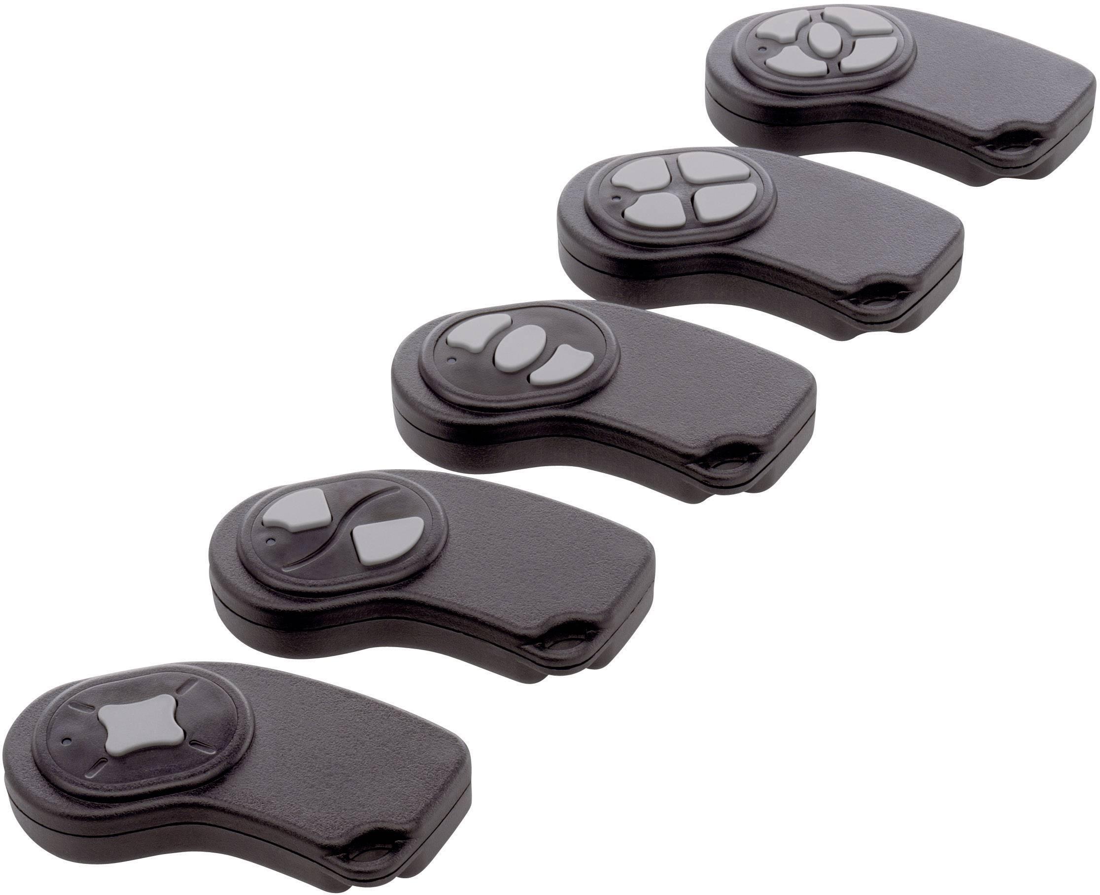Plastová krabička Axxatronic 24080225-CON, 72 x 32 x 9.5 mm, ABS, čierna, 1 ks