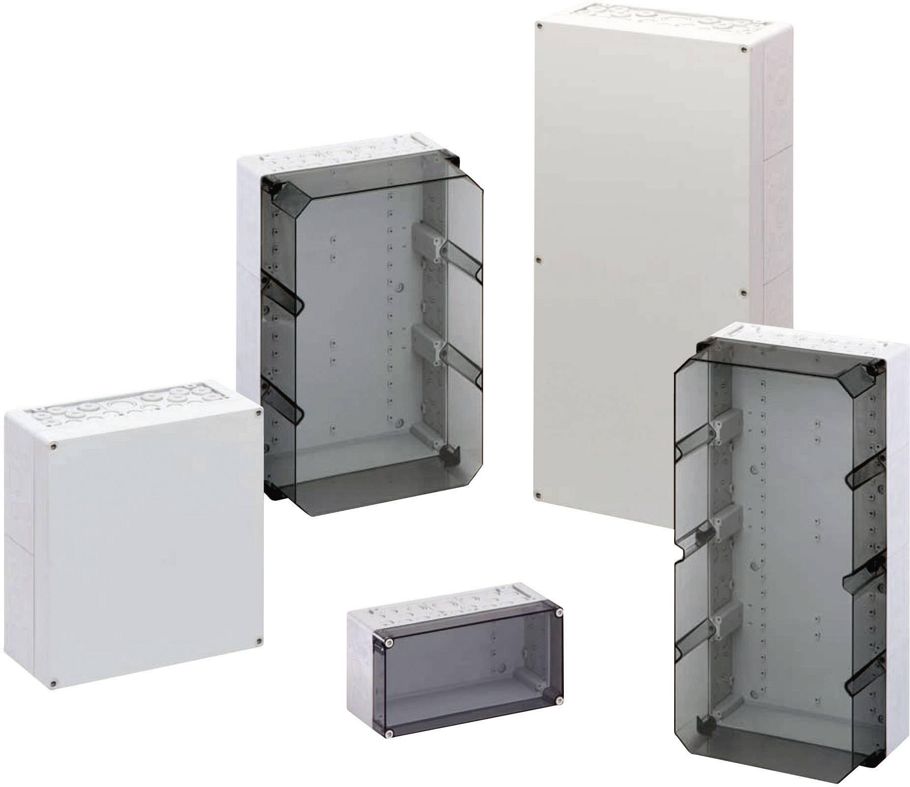 Svorkovnicová skříň polykarbonátová Spelsberg AKi 3-th, (d x š x v) 300 x 450 x 210 mm, šedá