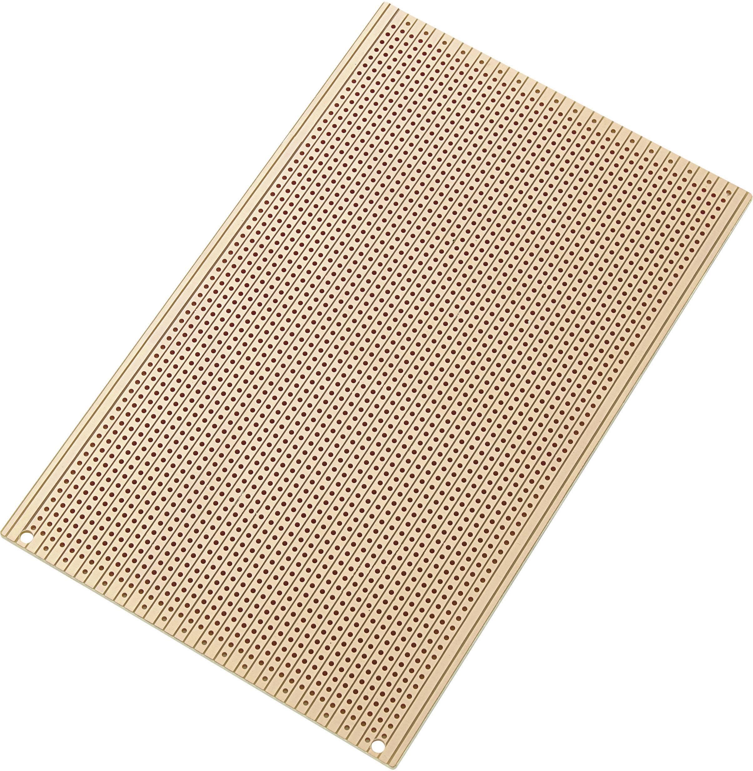 Eurodeska z tvrdého papiera, SU527556, (D x Š) 160mm x 100mm, veľkosť rastra 2,54mm
