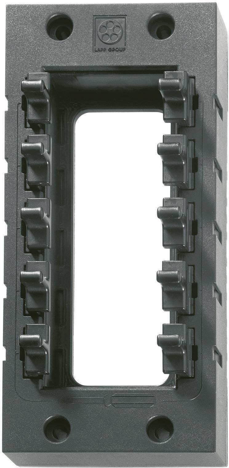 Káblová priechodka LappKabel SKINTOP CUBE 16, polyamid, čierna, 1 ks
