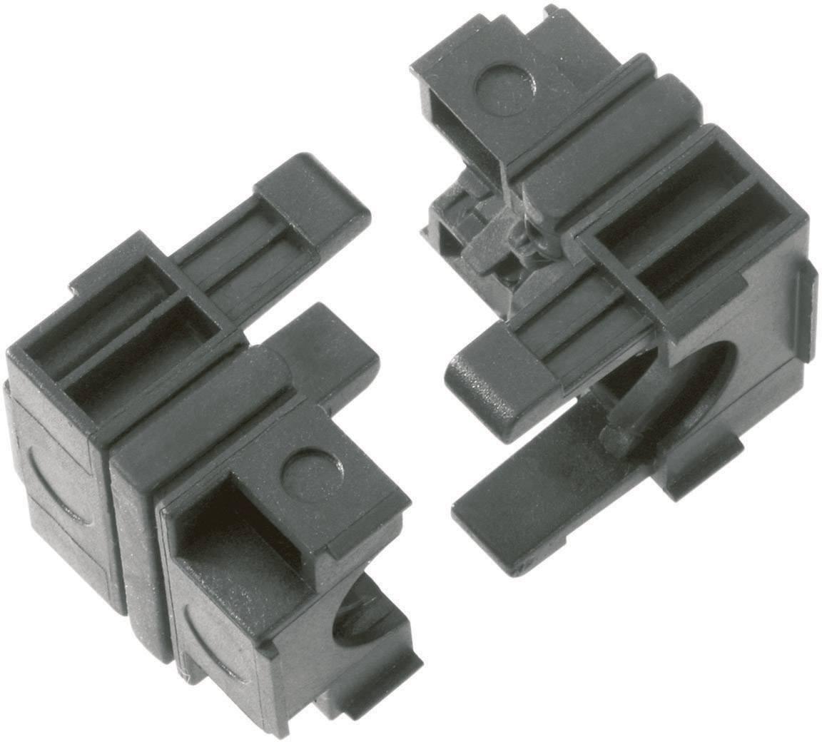 Káblová priechodka LappKabel SKINTOP CUBE S, Ø 12 mm, polypropylén, čierna, 5 ks
