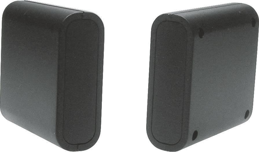 Univerzálne púzdro Strapubox 2412SW 2412SW, 63 x 60 x 21 , ABS, čierna, 1 ks