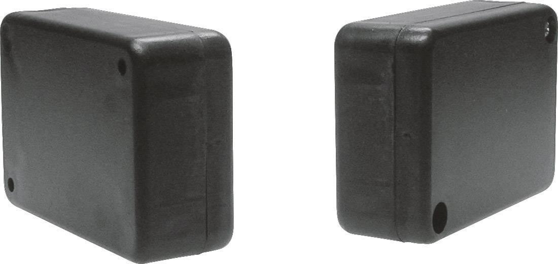 Univerzálne púzdro Strapubox KK52SW KK52SW, 80 x 55 x 28 , ABS, čierna, 1 ks