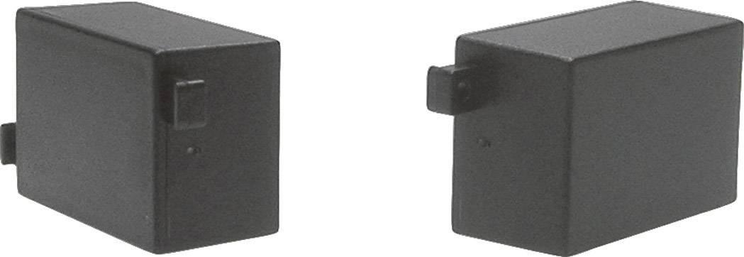 Modulová krabička Strapubox MG 309SW MG 309SW, 45 x 30 x 22 , ABS, čierna, 1 ks