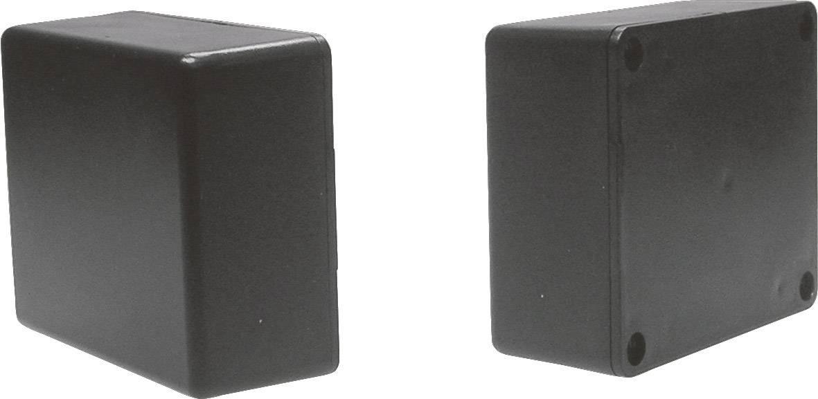 Univerzálne púzdro Strapubox CO 5SW CO 5SW, 71 x 61 x 30 , ABS, čierna, 1 ks