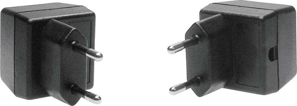 Pouzdro zástrčky TRU COMPONENTS TC-SG 6 SW203, ABS, 37 x 38 x 32 , černá, 1 ks