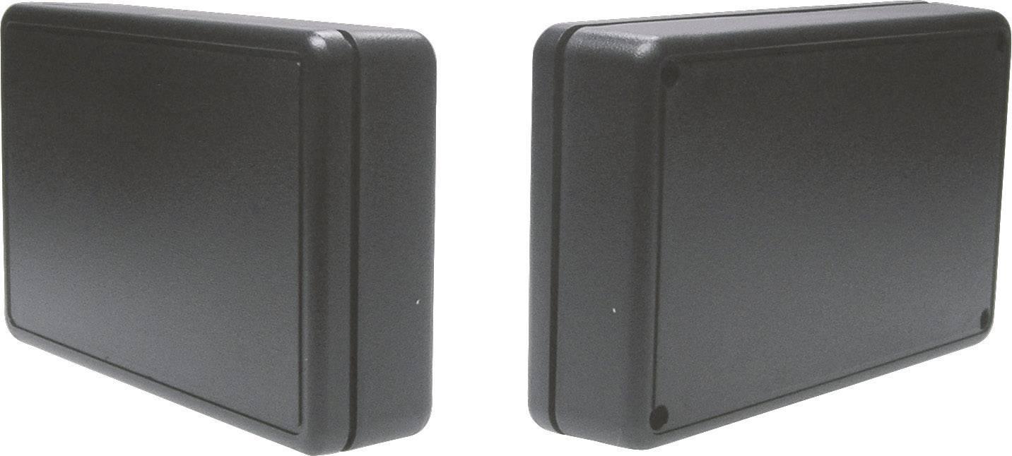 Univerzálne púzdro Strapubox 2006SW 2006SW, 125 x 74 x 27 , ABS, čierna, 1 ks