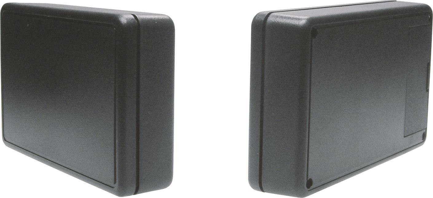 Univerzálne púzdro Strapubox 6006SW 6006SW, 125 x 74 x 27 , ABS, čierna, 1 ks